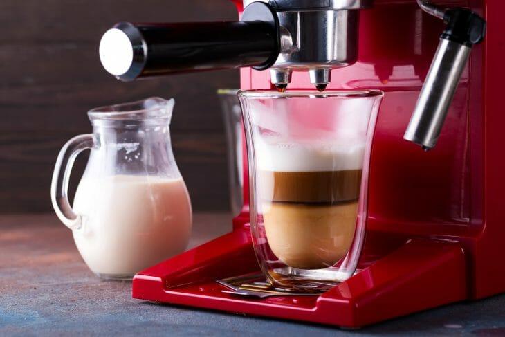 Автоматический капучинатор в рожковой кофемашине