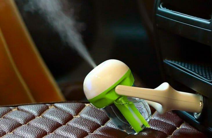 Компактный ультразвуковой увлажнитель воздуха в автомобиль