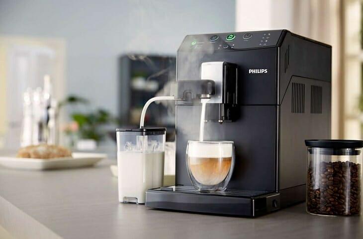 Автоматический капучинатор в кофемашине