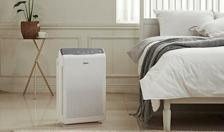 Чистка воздуха в спальне перед сном