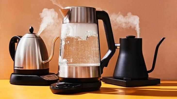 Варианты исполнения колбы умных чайников