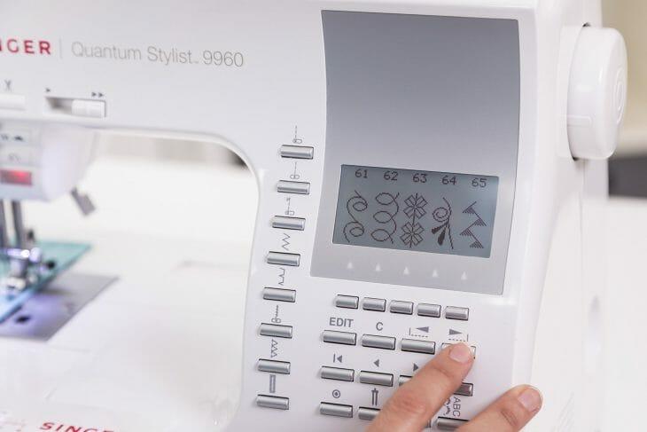 Блок управления компьютеризорованной швейной машинкой