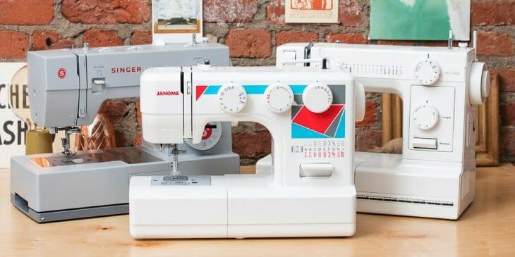 Лучшие швейные машинки для кожи