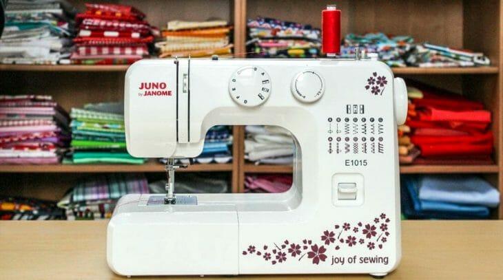 Типы строчек и петель на корпусе швейной машинки