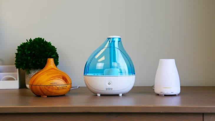 Разные типы увлажнителей воздуха для квартиры