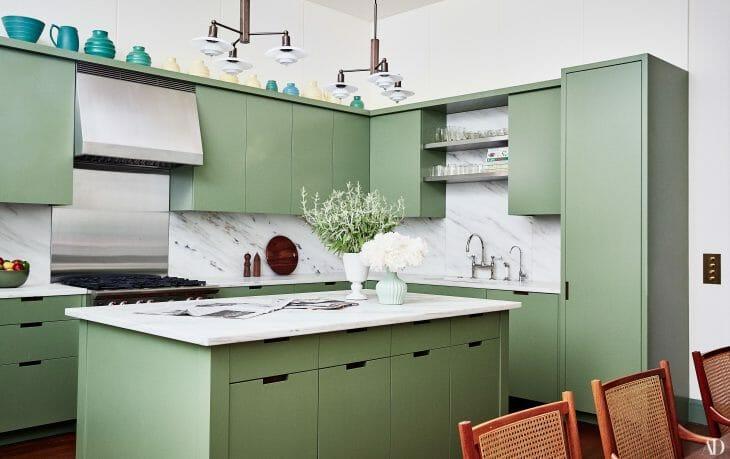 Кухня с вытяжкой без отвода в вентиляцию