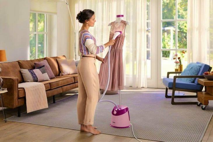 Напольный отпариватель одежды