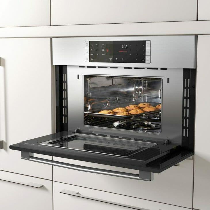 Встраиваемая в мебель духовка