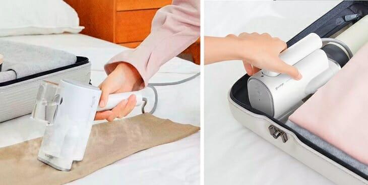 Использование отпаривателя Сяоми для одежды