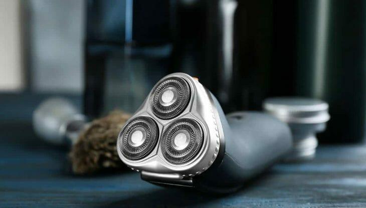 Мужская бритва с дисками для чувствительной кожи