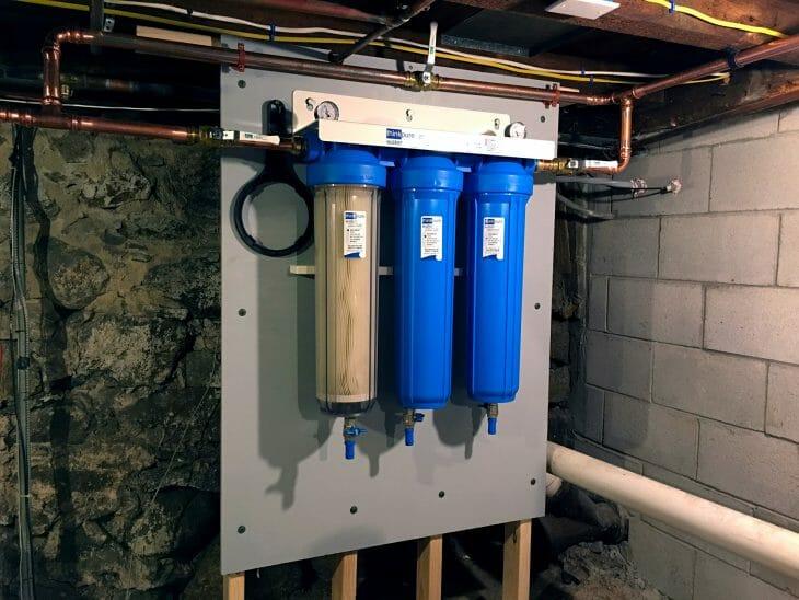 Система фильтров грубой очистки воды