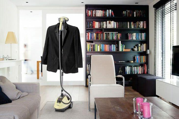 Подготовка пиджака к отпариванию