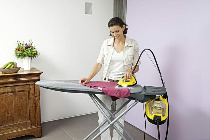 Использование напольного отпаривателя в домашних условиях
