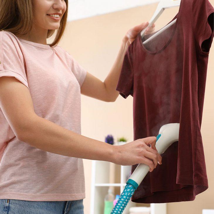 Отпаривание одежды