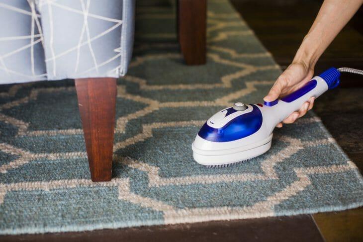 Отпаривание коврового покрытия