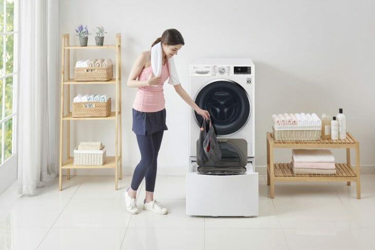 Паровой шкаф под стиральной машиной