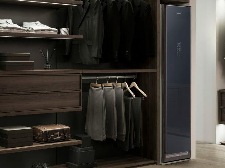 Черный паровой шкаф