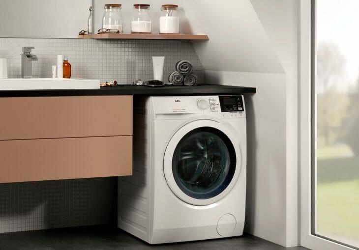 Частично встраиваемая стиральная машина