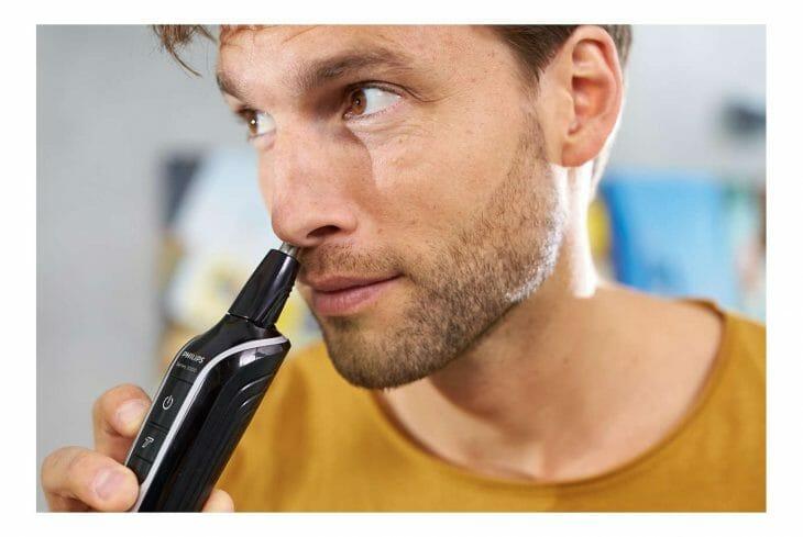 Удаление волос из носа