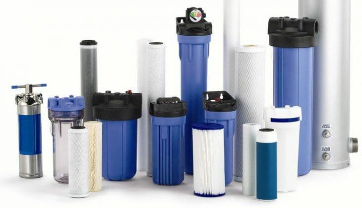 Типы фильтров для грубой очистки воды