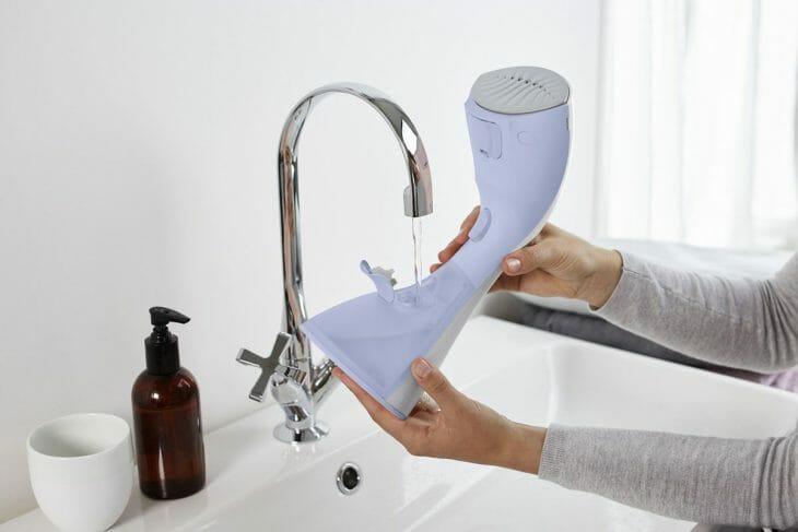 Наполнение резервуара отпаривателя водой