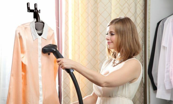 Вертикальное отпаривание одежды