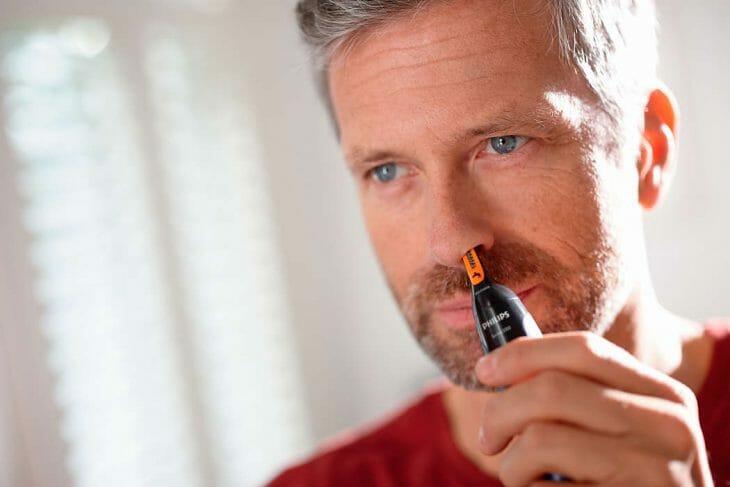 Триммер для носа и бороды