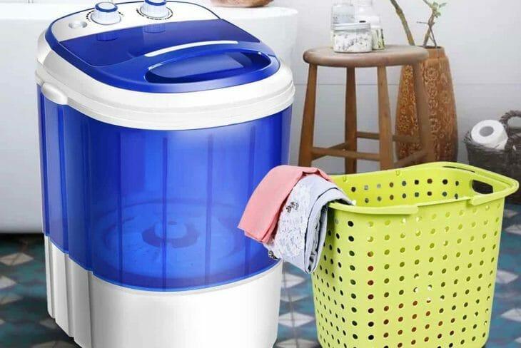 Мобильная стиральная машина полуавтомат