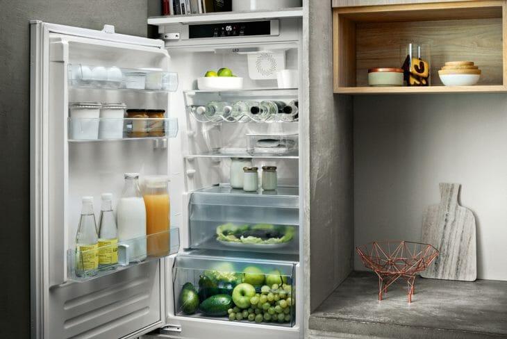 Холодильный отсек двухдверного холодильника