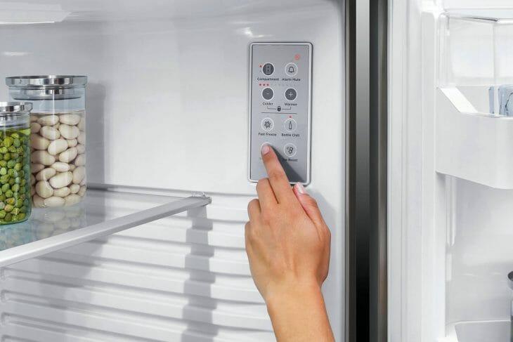 Панель управления холодильника без морозилки