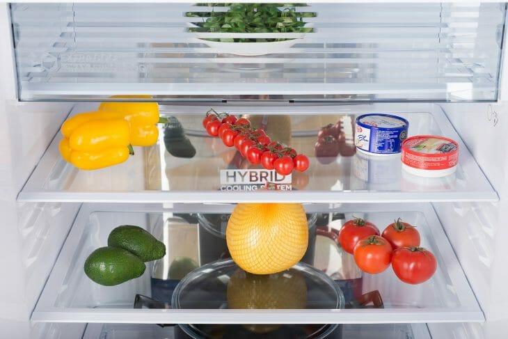 Гибридная система охлаждения в холодильнике Sharp
