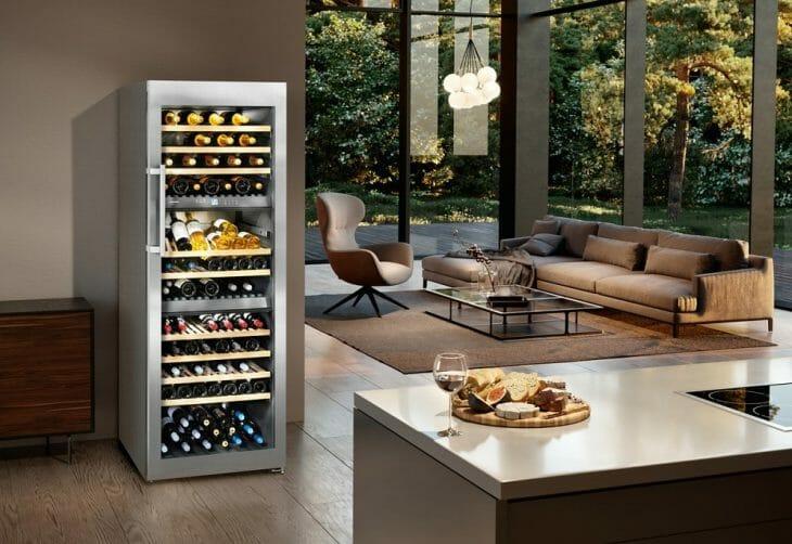 Отдельно стоящий винный шкаф