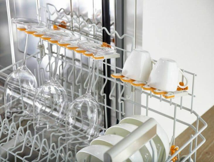 Мойка бокалов в посудомоечной машине