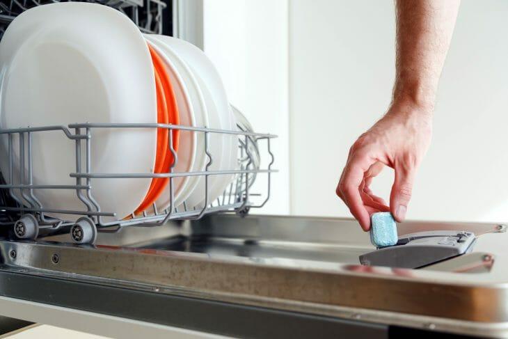 Моющие таблетки для посудомоечной машины