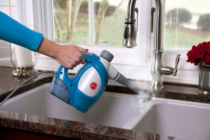 Ручной парогенератор на кухне