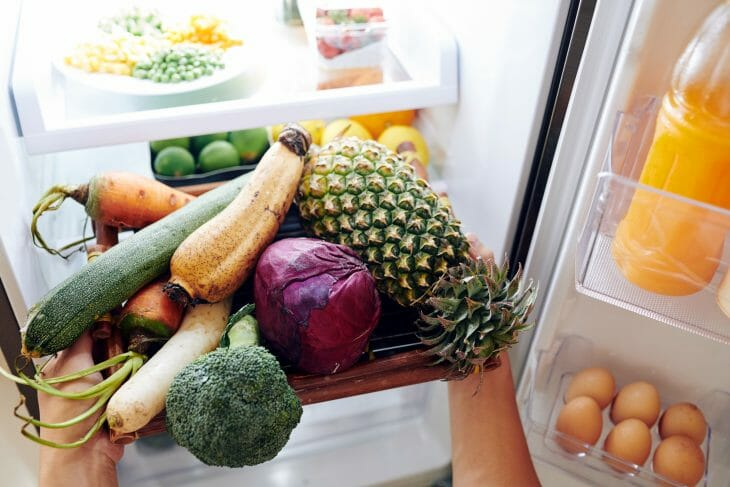 Внутри холодильника Liebherr