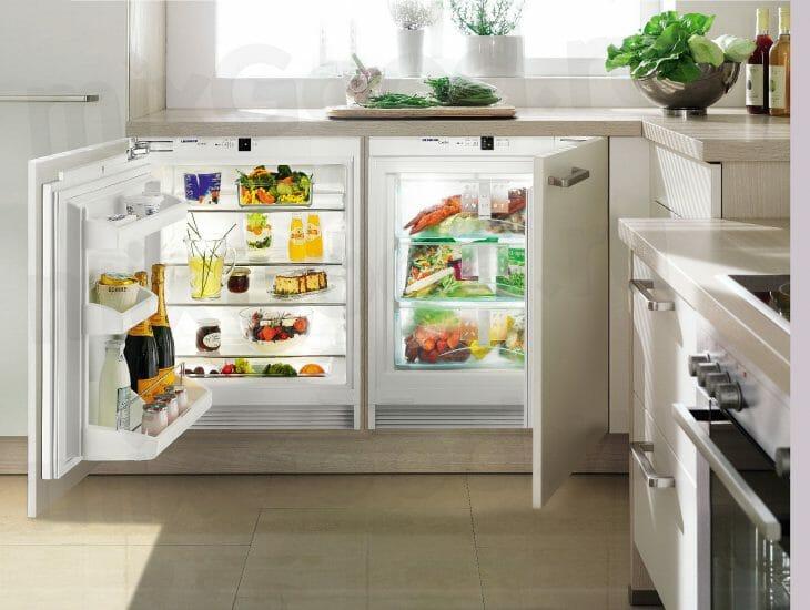 Встраиваемый холодильник Индезит
