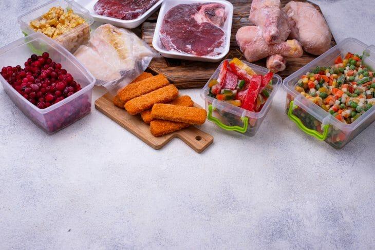 Замороженые продукты