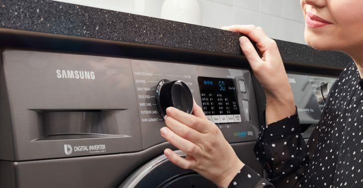 Панель управления узкой стиральной машины