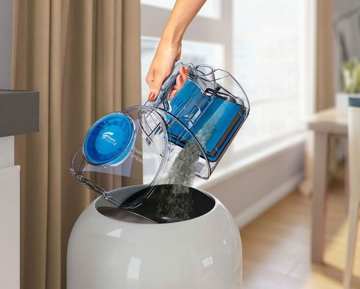 Очистка пылесборника Thomas