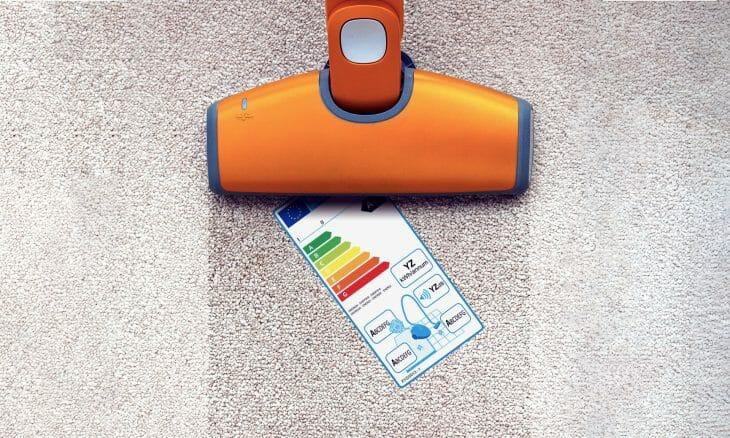 Показатели энергоэффективности пылесоса Samsung