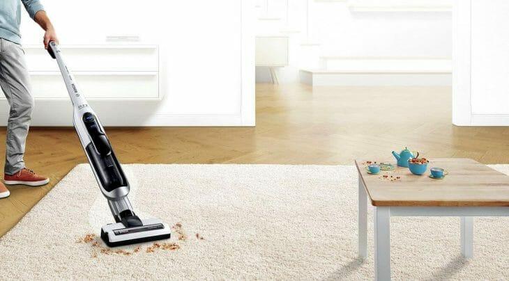 Вертикальный пылесос Bosch для квартиры
