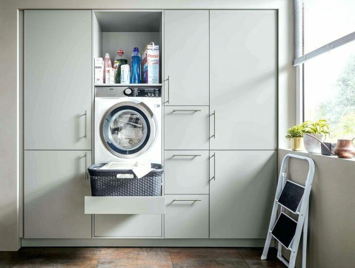 Бесшумная встраиваемая стиральная машина