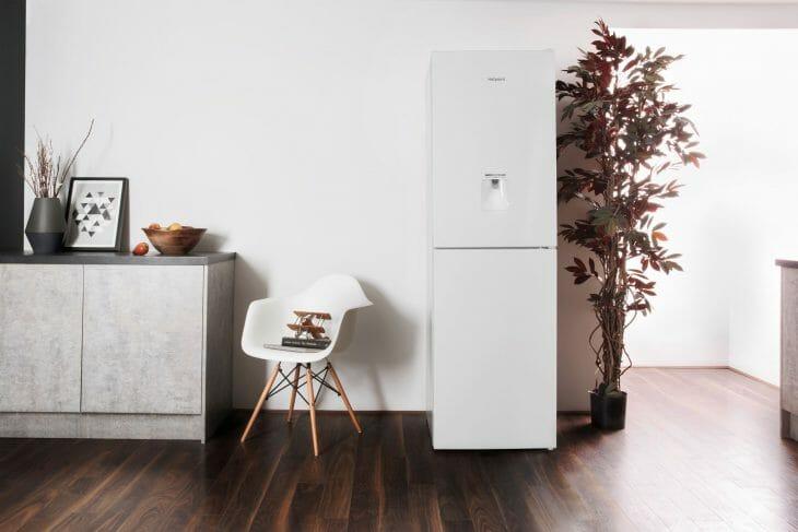 Белый холодильник Hotpoint-Ariston