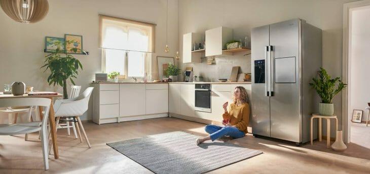 Холодильник Gorenje форм-фактора Side-by-side