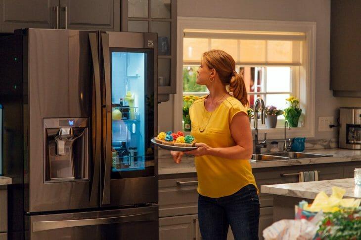 Холодильник side-by-side и door-in-door