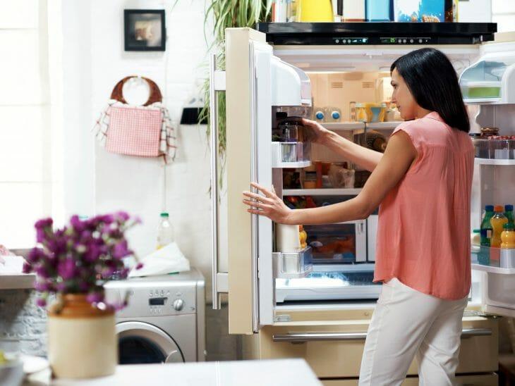 Использование холодильника Side-by-side