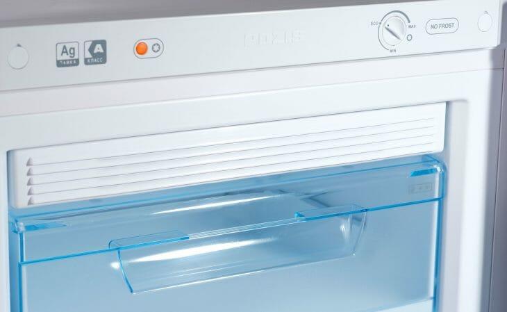 Морозилка холодильника Pozis с системой No frost