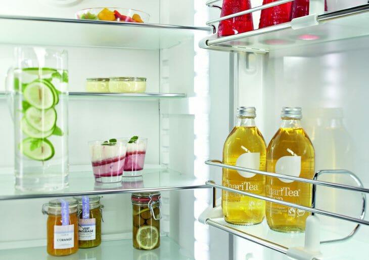 Напитки в холодильнике