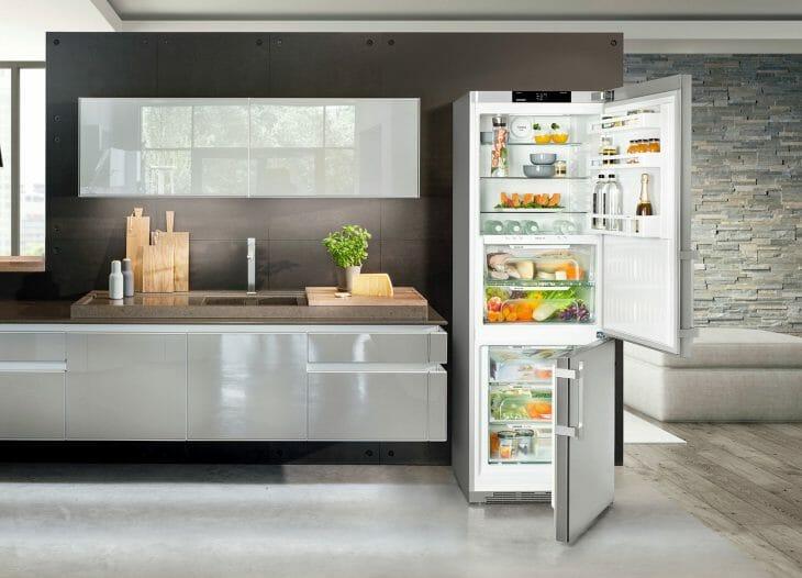 Открытый холодильник Атлант